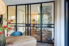 Stalen scheidingswand tussen kamer en keuken Stahl türen / stalen deuren Divider, Doors, Modern, Frames, Furniture, Design, Home Decor, Trendy Tree, Decoration Home