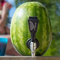 Know Your Fruits & Veggies: Watermelon. Fun Fruit Facts, Recipes & Watermelon Themed Gadgets & Goodies like this Watermelon Tap!