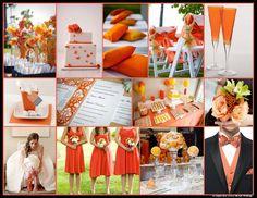An English Rose, Luxury Lifestyle Weddings - Pantone Colour of the Year Tangerine Tango Wedding