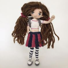 "94 Likes, 4 Comments - Crochetdolls The Netherlands (@margareth.the.dollmaker) on Instagram: ""Hello world! """