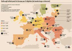 Economia e società digitali: Italia soltanto al 25° posto in Europa - ilSole24ORE #digitalculture