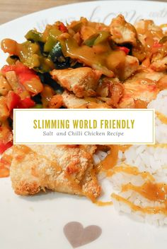 I share my Slimming World Friendly Salt and Chilli Chicken recipe, a cheap and healthier fakeaway alternative to the popular Chinese takeaway dish. Salt And Chilli Chicken, Chilli Chicken Recipe, Easy Chicken Recipes, Healthy Meals, Easy Meals, Healthy Recipes, Syn Free Breakfast, Slimming World Breakfast, Slimming World Recipes
