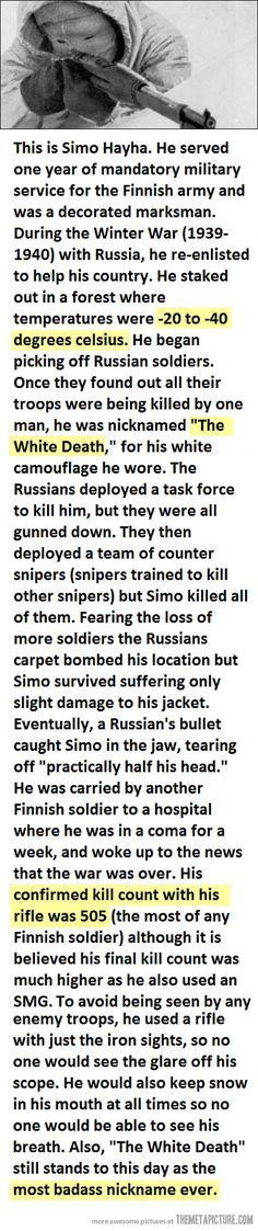 Irons sniper...