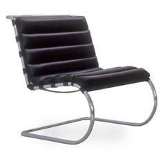 Knoll - MR Lounge Chair | Modern Furniture | Zinc Details
