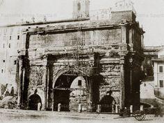 Arco di Settimio Severo Anno: 1848 ca.
