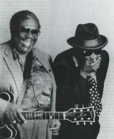 BB and John Lee Hooker ☆ Awesome!