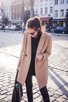 perfect-palette — justthedesign: Paulien Riemisis wearing a camel...
