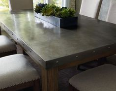 metal table top - Kitchen Steel Table