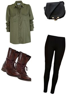 """Army Wife"" by curlycube ❤ liked on Polyvore"