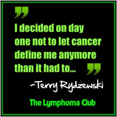 """""""I decided on day one not to let cancer define me anymore than it had to. Yes, I had stage 4 everywhere but I decided each day alive was an opportunity for me to tell my loved ones how much I loved and appreciated them, a chance to find small pleasures in their company.#CancerSurvivorQuotes #CancerQuotes"""