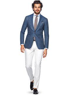 Suitsupply light blue blazer