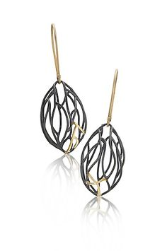Petite Pod Earrings: Beverly Tadeu: Gold & Silver Earrings - Artful Home