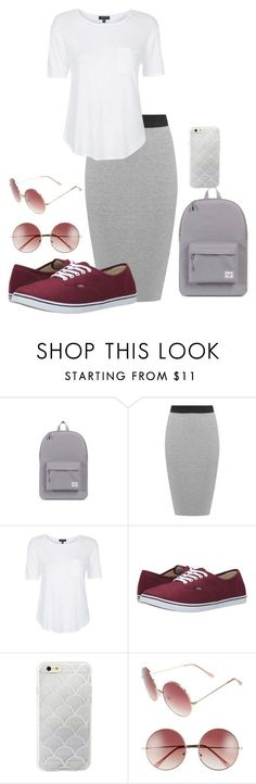 """Apostolic Fashion!!!"" by babee-rikki on Polyvore featuring Herschel Supply Co., WearAll, Topshop, Vans, Sonix, A.J. Morgan, beapostolic and imamisfit"