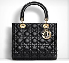 The It Bag: A Historical Handbag Timeline - 1995: The Christian Dior Lady Dior Bag