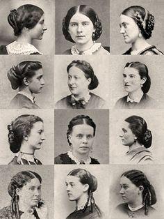 1860s Hairpiece Wardrobe.