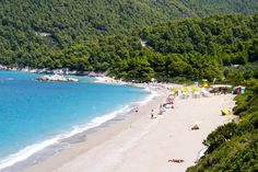 #Milia beach in #Skopelos, island, #Greece