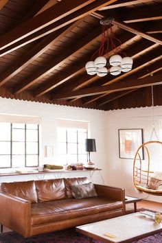 Sara & Rich's Rustic, Modern 1940s Hacienda in Joshua Tree — House Tour
