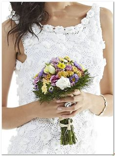 Vestido de novia de punto