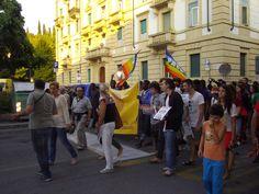 a #Verona 1500 persone alla #marciadegliscalzi