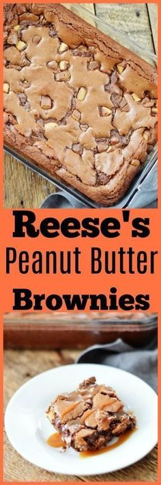 Reese's Peanut Butter Brownies