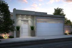 Rustic House Plans, Modern Gate, Modern Garage Doors, House Designs Exterior, Entrance Gates Design, Modern Garage, Duplex House Design, House Entrance, House Exterior
