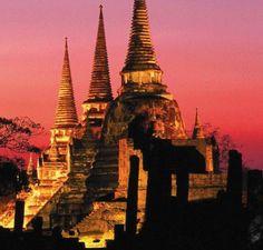 Wat Phra Si Sanphet, Ayuthaya - Thailand