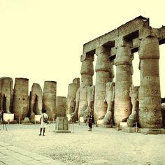 Luxor Temple   معبد الأقصر in الأقصر, الأقصر