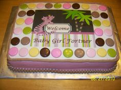 queen of the jungle baby shower cake | Queen of the Jungle