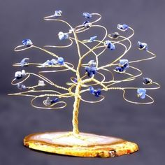 Image result for small wire wrapped tree