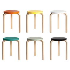 Stool, Aalto style Join us and DesignMilk for our #ModernMonday Twitter chat tomorrow, 1-2 p.m. ET. We'll be talking about timeless product design with Artek!