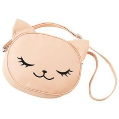 Three C's of this Cute Bag My Bags, Purses And Bags, Purse Wallet, Pouch, Kawaii Bags, Novelty Bags, Diy Sac, Cat Bag, Cute Purses