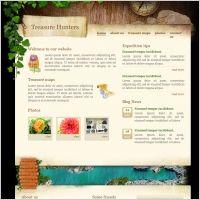 Treasure Hunters Template | Web Design Maryland | #Webdesign #websitedesign #web #WebDesignMaryland