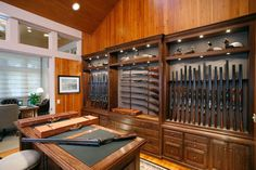 Gunrooms - traditional - home office - little rock - Julian & Sons