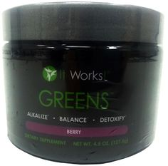 It Works! Greens - Berry Flavor - 127.5 g