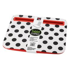 Polka Dot Design Tablet Cushion