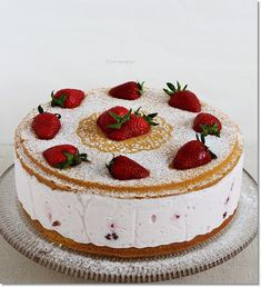 Sweet Tooth, Cheesecake, Food And Drink, Cooking Recipes, Cookies, Strawberries, Anna, Yogurt, Crack Crackers
