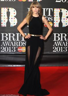 Brits 2013: Taylor Swift has a bad girl makeover as she puts on sexy performance of I Knew You Were Trouble   Mail Online