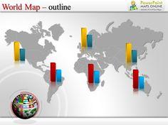 world map ppt order now http www powerpointmapsonline com
