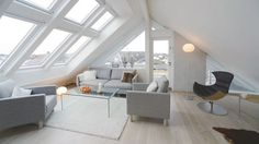 Looking for interior loft inspiration? Take a look at our brand new Loft Conversion gallery for ideas. Attic Loft, Loft Room, Attic Rooms, Bedroom Loft, Attic Bathroom, Attic Renovation, Attic Remodel, Loft Spaces, Living Spaces