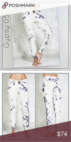 """✨➰Gypsy 05 La Paz Lounge Harem Pants➰✨ ✨Gypsy 05 La Paz Pegged Harem Pants✨Elasticized Drawstring Waist With Ribbed Cuffs✨2 Front Pockets✨Lovely Boho Tie-Die Print And Super Comfy Harem Pants✨Approx 9.75"""" Rise✨Viscose/Cotton/Poly/Spandex Blend✨NWT✨Size Large✨ Gypsy 05 Pants Ankle & Cropped"""
