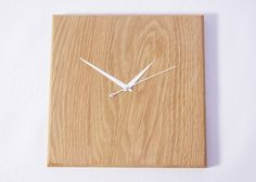 Wooden Clock - Simplistic/Fancy Hands - SOLD OUT by TwiggsWood on Etsy https://www.etsy.com/listing/261628752/wooden-clock-simplisticfancy-hands-sold