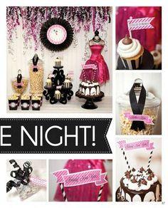 pink + black movie night
