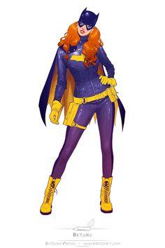 Batgirl of Burnside by Alfonso Pardo Batwoman, Nightwing, Batgirl And Robin, Dc Batgirl, Barbara Gordon, Comic Movies, Comic Books Art, Book Art, Comic Art