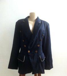 Casaco vintage Navy - MasQachado! http://masqachado.tanlup.com/product/750836/casaco-vintage-navy