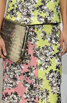 Jcrew s/s 14 Fashion Details, Love Fashion, High Fashion, Fashion Design, Couture Fashion, Runway Fashion, Spring Fashion, Mono Floral, Tropical Fashion