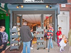 Book Book. Cozy indie bookstore. Formerly known as Biography Bookshop. Located at 266 Bleecker Street between 6th & 7th Avenues in Greenwich Village