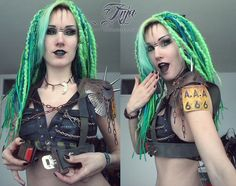 want to see more? http://livingdreaddoll.tumblr.com/ - A wastelander journal…