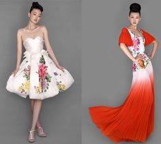 Chinese Cheong-sam (or Qi Pao) dress by NE-TIGER