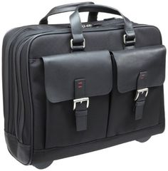 Click Image Above To Purchase: Jack Georges   Laptop Wheeler,black,one Size