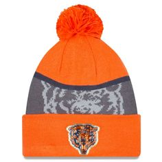2ac550586 NFL Men s Chicago Bears New Era Navy Graphite Gold Collection Classic Team  Color Knit Hat